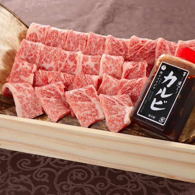 常陸牛焼肉カルビ300g木箱ギフト